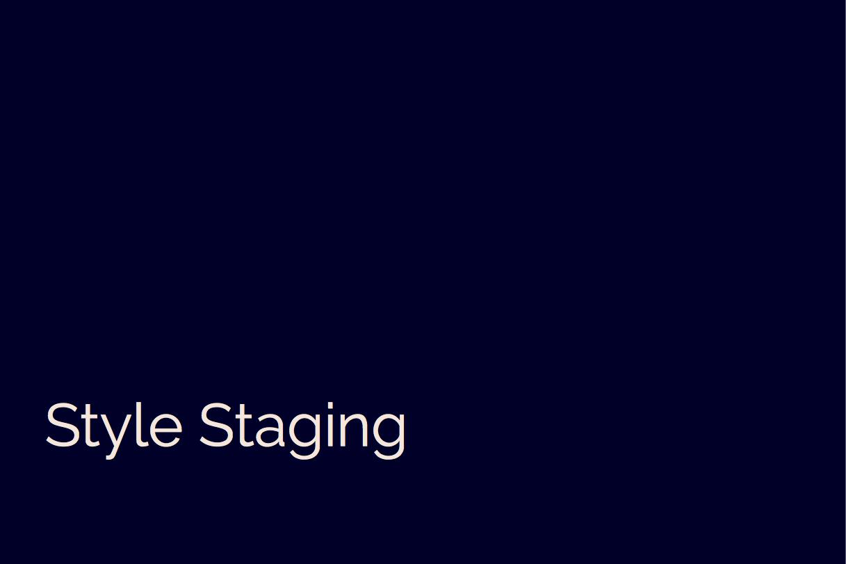 Style Staging